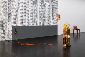Zur Sackgasse 4. Stock, Ausstellungsansicht Kunstmuseum Luzern, 2020.Foto: Marc Latzel