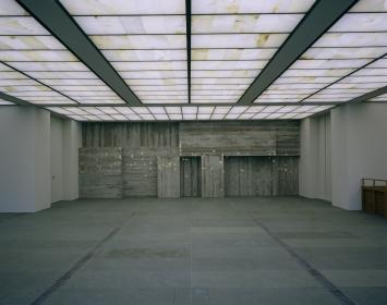 Helmut Federle, «Ohne Titel (für Johannes Itten und Andy Hug)», 2006, Museum Rietberg, Fachstelle Kunst und Bau, Amt für Hochbauten, Stadt Zürich, Foto: Heinrich Helfenstein
