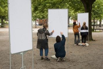Fiona Könz &Gregor Vogel, Connecting dots, 2020,Courtesy: die Künstler und Kein Museum, Zürich