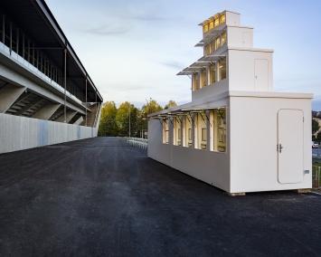 Florian Graf,Ticket Pagoda, 2020.Foto:Charlotte Aeb