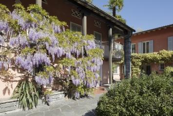 Fondazione Marguerite Arp, Locarno. Atelierhaus (Sitz der Fondazione, Archiv, Bibliothek). Foto: Roberto Pellegrini