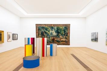 Chapitre ‹Forêt›, 2019, vue de l'exposition MCBA Lausanne.Photo: Dominik Gehl
