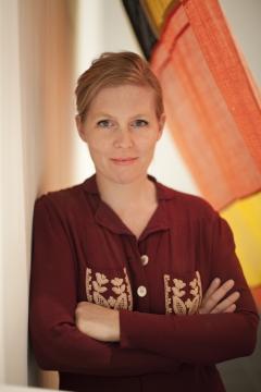 Ulla von Brandenburg, 2016. Foto: Jan Noodrhoff, Courtesy Art Concept, Paris; Pilar Corrias, London; Produzentengalerie Hamburg