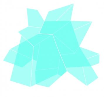 CHEN 1 UV-Digitaldirektdruck auf Alu 2mm, 120cm x 120cm