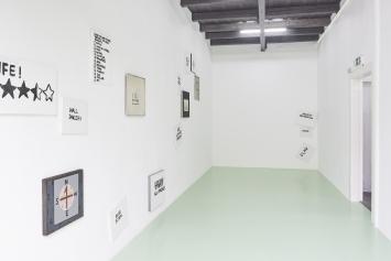 Gene Beery,‹Wall Dancers›, ca. 1960–2016,Installationsansicht Kunsthalle Fri Art, 2019. Foto: Guillaume Baeriswyl