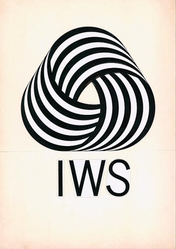 Franco Grignani · Projekt für das Logo Reine Schurwolle, 1963, Fotografische Assemblage auf Karton, 43x31,5cm.Foto: Matteo Zarbo