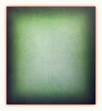Eberhard Ross · fermata, 2018, 120x110cm