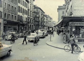 Langstrasse, gta Archiv.Foto: Werner Aebli