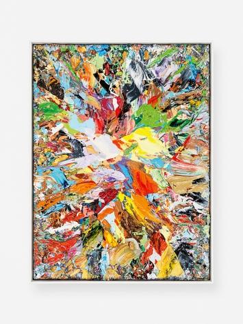 Jean-Frédéric Schnyder · kleine Bilder (Detail), 2015–2019, Öl auf Sperrholz, gerahmt; 6-teilig, A–Z VI: 24.5x18.5cm, Courtesy Galerie Eva Presenhuber