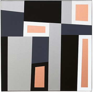Rita Ernst · Salinas Palermo 16, 2018, Acryl auf Leinwand, 60x60cm