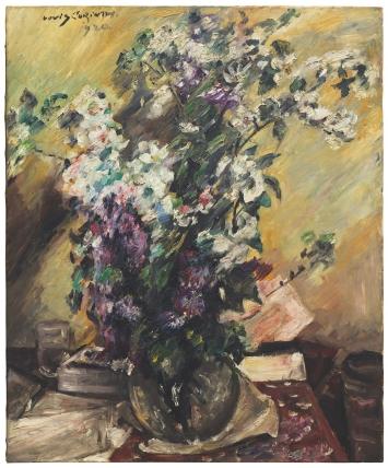 Lovis Corinth Apfelblüten und Flieder, 1920 Hilti Art Foundation