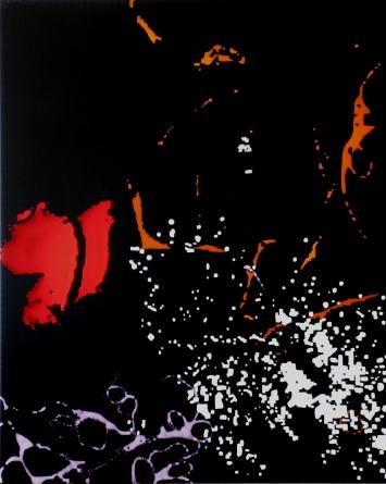 Hanspeter HofmannUntitled, 2014Acrylic on canvas100 x 80 cm