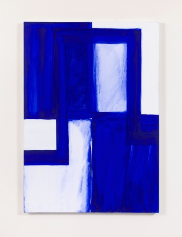 Mary Heilmann, Ming, 1986, Acrylic and watercolor on canvas, 152.4 x 106.7 x 3.8 cm / 60 x 42 x 1 1/2 in  © Mary Heilmann  Courtesy the artist, Hauser & Wirth and 303 Gallery, New York  Photo: Thomas Müller