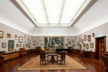 Museum Langmatt, Renée Levi, Skizze Ausstellung 2019