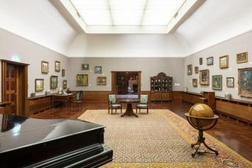 Ausstellungsansicht, Herzkammer – 30 Jahre Museum Langmatt, Museum Langmatt 2020