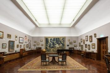 Austellungsansicht,Herzkammer – 30 Jahre Museum Langmatt, Museum Langmatt