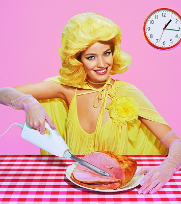 Miles Aldridge · New Utopias #4, 2018, Screenprint, 111 x 98 cm