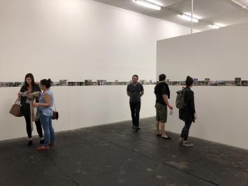 Christophe Rey, ‹D'un touriste›, Centre de la photographie Genève, 2018 (Ausstellungsaufnahmen).Foto: Katharina Holderegger