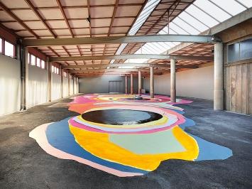 Sonja Lippuner · orten, 2020, Ausstellungsansicht Kunsthalle Arbon.Foto: Ladina Bischof