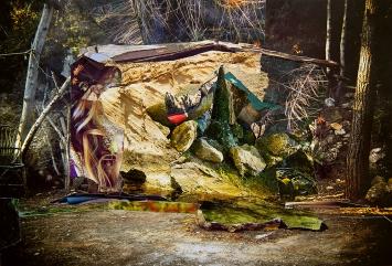 Sabine Hertig · ohne Titel, 2019, Analoge Collage auf Papier, 17x25,5cm, Courtesy Galerie Stampa Basel