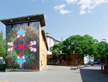 Gerda Steiner und Jörg Lenzlinger · Eine Augenübung zur Freude des Hauses, 2021