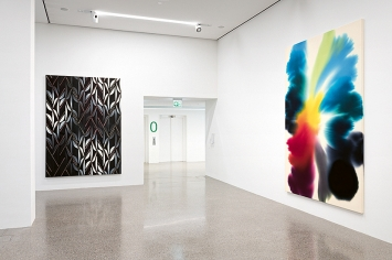 Giacomo Santiago Rogado · Chameleon, 2020, Helvetia Art Foyer.Foto: V.Kolibàl
