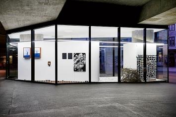 Vitrine Gallery Basel, 2020, Aussenansicht