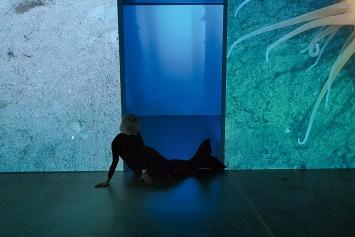 Emilija Škarnulytė · Sunken Cities, 2021, Ausstellungsansichten Kunsthaus Pasquart. Foto: Vyautas Tinteris