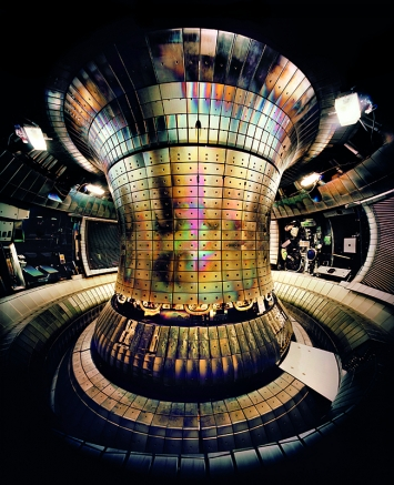 Tokamak Asdex · Upgrade Interior 1, Max Planck IPP, Garching, 2010
