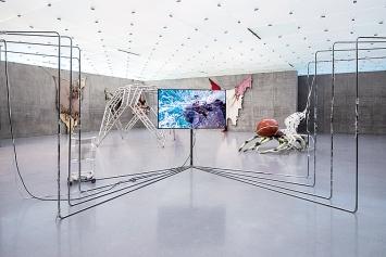 Raphaela Vogel · Ausstellungsansicht 1.OG, Kunsthaus Bregenz, 2019.Foto: Markus Tretter