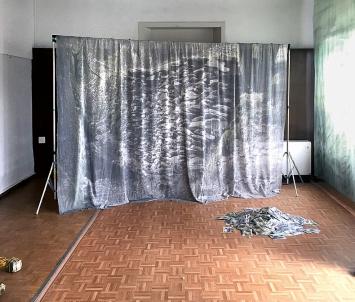 Paula König · Installationsansicht Dietikon Projektraum