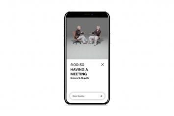 Nina Roehrs und Damjanski · FitArt I Fitness Art Club, App, Screenshots, 2020