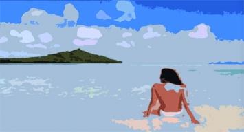 Constant Dullaart · Jennifer in Paradise, 2013