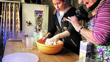 Meret Buser · Vierzäh Täg hinterem Mond, Recipes from my Grandmother's Life, 2014