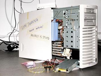 Eva und Franco Mattes · Life Sharing, 2000–2003, Netzprojekt