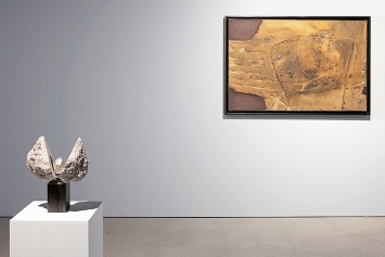 Collezione Olgiati, spazio-01 LAC Lugano, Ausstellungsansicht ‹Terre›, 2021