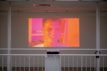 Hannah Black · Aeter (Jack), 2018, Ausstellungsansicht Kunstverein Freiburg.Foto: Marc Doradzillo