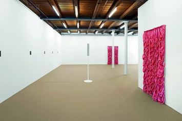 Hanne Lippard · Ulyd, 2018, Ausstellungsansicht Fri Art, Freiburg.Foto: Max Reitmeier