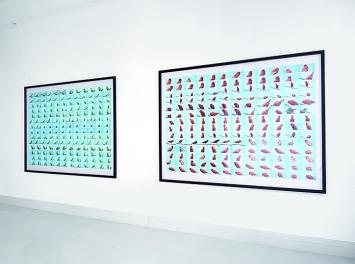 Alex Hanimann · Ausstellungsansicht Galerie Skopia Art contemporain, Genf, 2018.Foto: Valérie Jacquinet