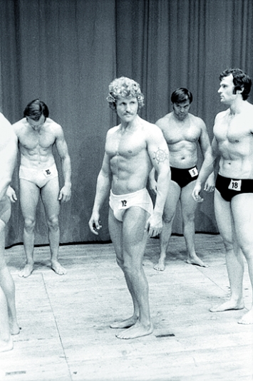 Karlheinz Weinberger · Bodybuilding, ca. 1977, Courtesy Galerie Esther Woerdehoff