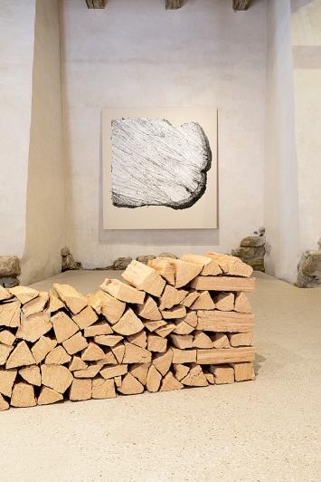 Jan Hostettler · Scheitern, 2021, Ausstellungsansicht Kloster Schönthal
