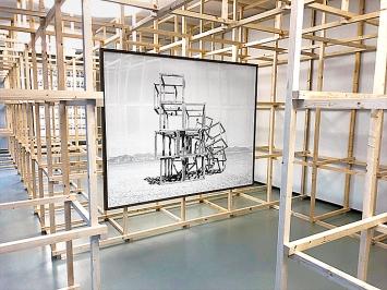 Noémie Goudal · Telluris, 2019, Ausstellungsansicht Musée des Beaux-Arts Le Locle ©ProLitteris