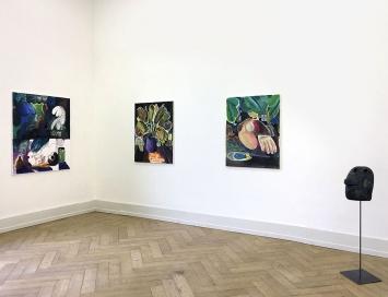 Fred Bott · Ausstellungsansicht Geist Genf, 2018, Kunsthalle Palazzo Liestal