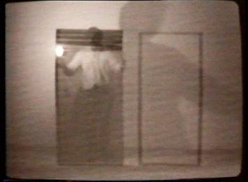 Hannes Vogel · Video-Zeichnungen zur Präsenz, 1980, Video, Kunstmuseum Luzern