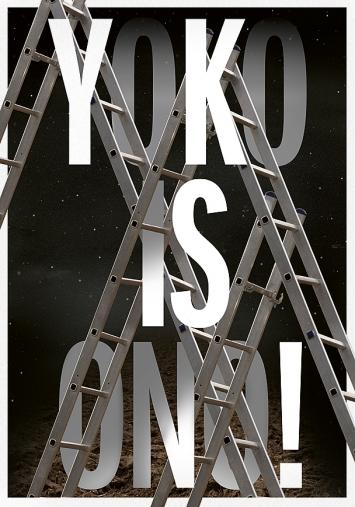 Nadia Zerzawy · Yoko Ono, Plakat 2021