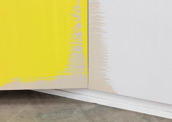 Sylvain Croci-Torti · The Marriage & The Death Of Coyote Woman, 2016, Acryl auf Leinwand, 325 x 500 x 114 cm, Swiss Art Awards Art Basel, 2016