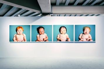 Jamie Diamond · Nine Months of Reborning, 2019, Ausstellungsansicht Osservatorio Fondazione Prada, 2019.Foto: Mattia Balsamini