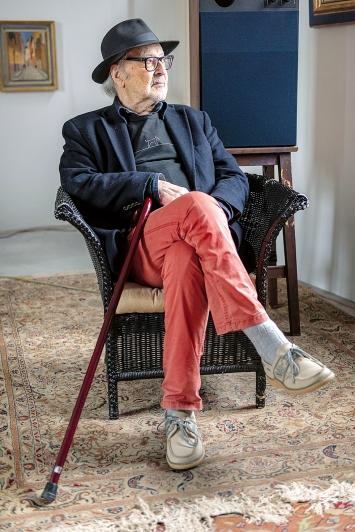 Jean-Luc Godard, 2019, Courtesy Fondazione Prada, Milano ©ProLitteris.Foto: Niccolò Quaresima