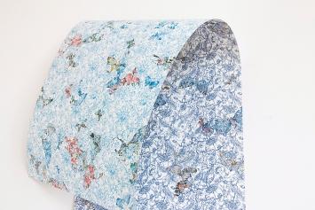 Hélène Bleys · Équinoxe, Detail, Farbstifte, 300x50cm, realisiert mit Unterstützung des Ateliers Poulaillon