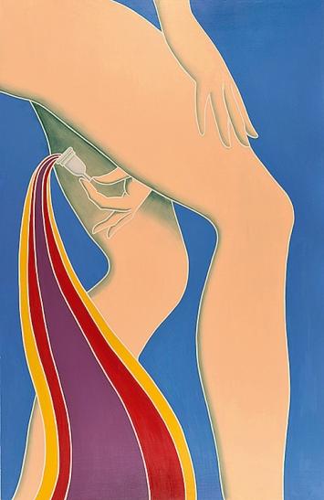 Lucy McKenzie · Mooncup, 2012, Detail, Courtesy Cabinet, London.Foto: Kristien Daem